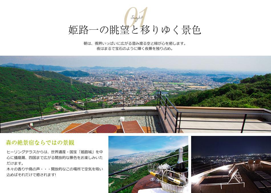 コンセプト1 姫路一の眺望と移りゆく景色