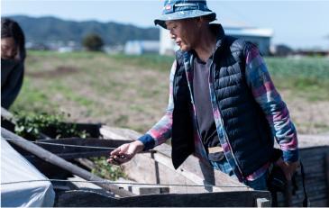 淡路島西洋野菜園 柴山さん