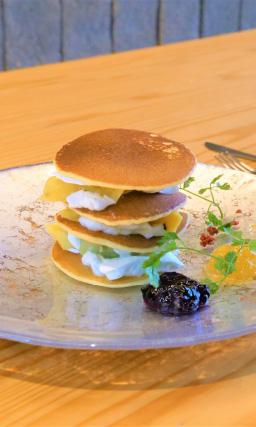 ママSETRE御杖村産コシヒカリ米粉を使ったパンケーキ