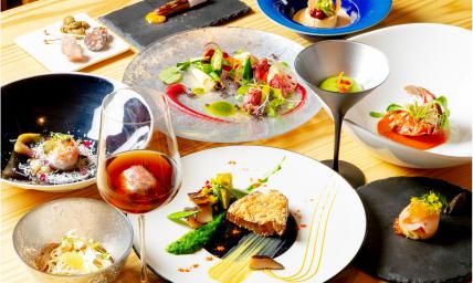 五感で奈良の食材を楽しむディナー