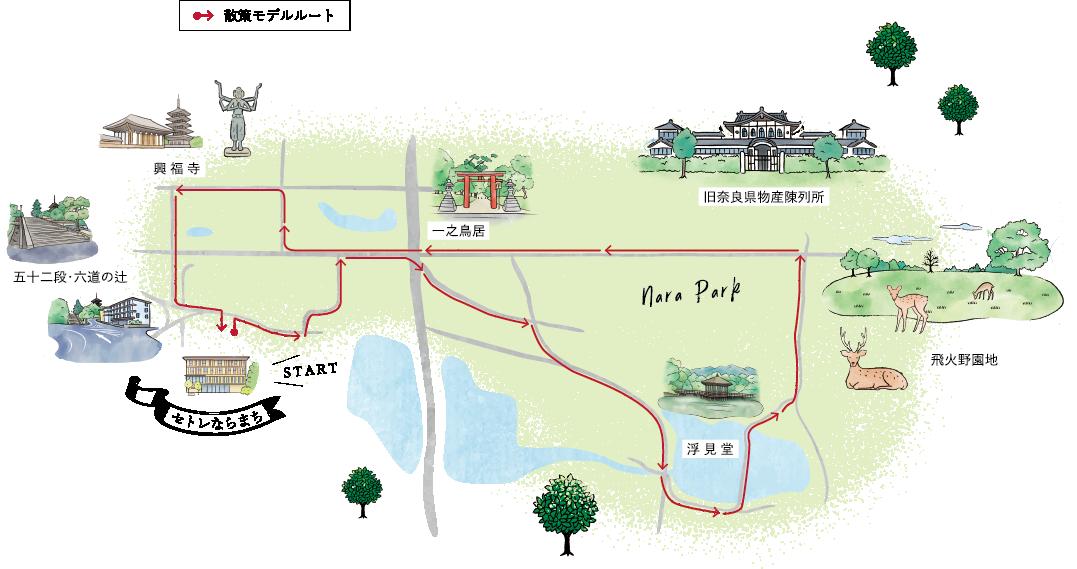 散策モデルルート